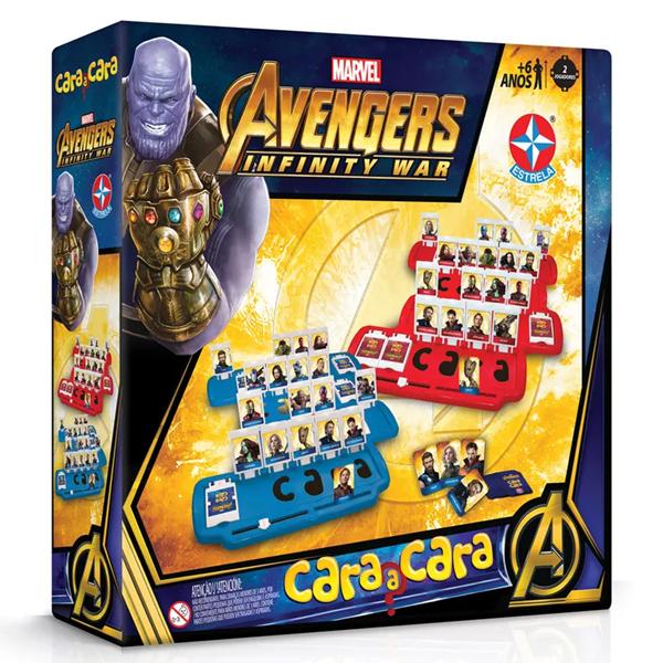 Imagem de Cara a Cara Avengers - Estrela