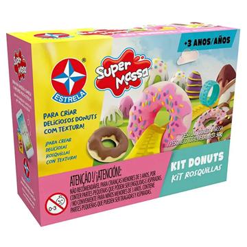 Imagem de Super Massa Kit Donuts - Estrela