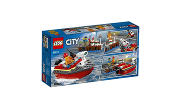 Imagem de Lego City Incêndio Na Doca