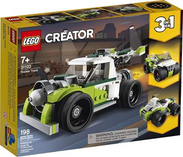 Imagem de Lego Creator Caminhão Foguete