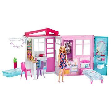 Imagem de Barbie Glam House com Boneca - Mattel