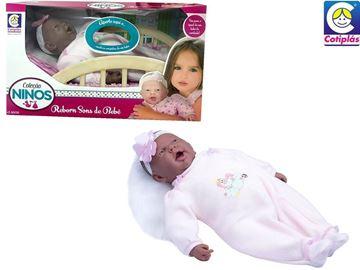 Imagem de Boneca Ninos Reborn Sons de Bebê - Cotiplás