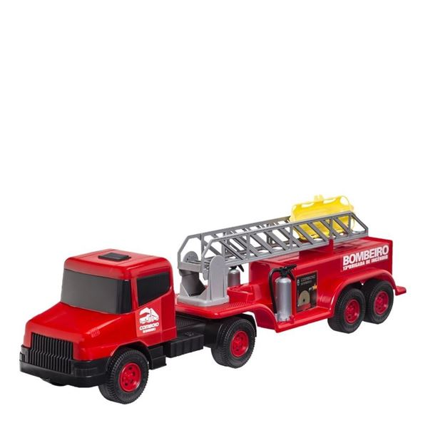 Imagem de Caminhão Bombeiro - Cardoso Toys
