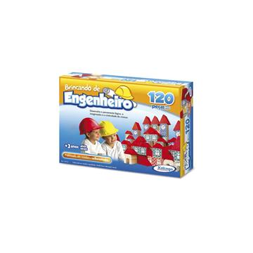 Imagem de Brincando de Engenheiro 120 Peças- Xalingo