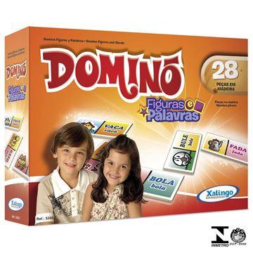 Imagem de Dominó Figuras e Palavras - Xalingo