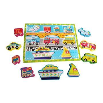 Imagem de Aprenda Brincando Veículos - DM Toys