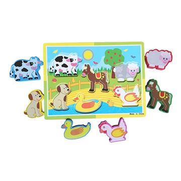 Imagem de Aprenda Brincando Animais - DM Toys