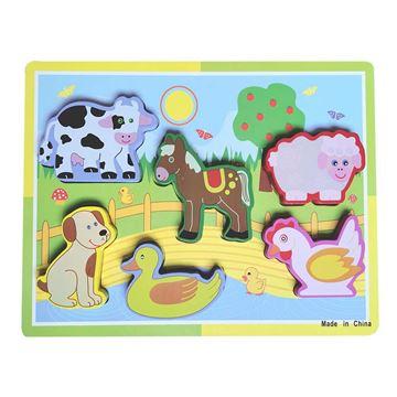 Imagem de Aprenda Brincando - Animais Fazenda