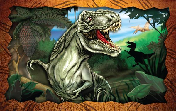 Imagem de Quebra-Cabeça - T-Rex