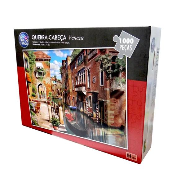 Imagem de Quebra-Cabeça Paisagens 1000 Peças - Veneza