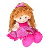Imagem de Boneca de Pano Vestido Listrado 35cm - Fofy Toys
