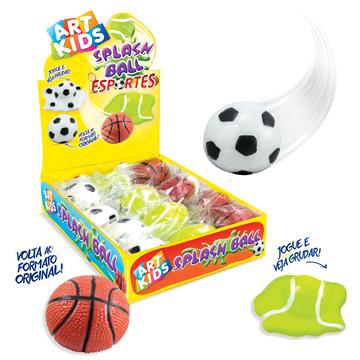 Imagem de Splash Ball Esportes /Frutas - Acrilex