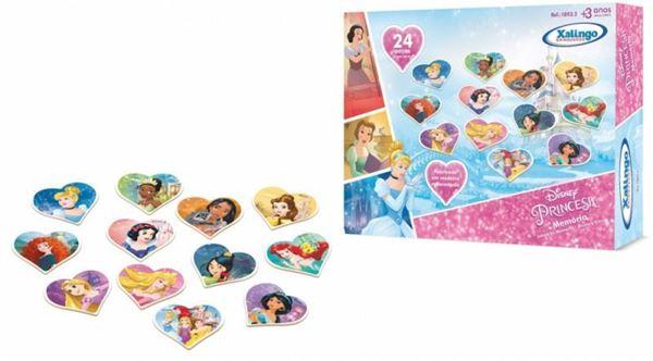 Imagem de Jogo da Memória Princesas Disney - Xalingo
