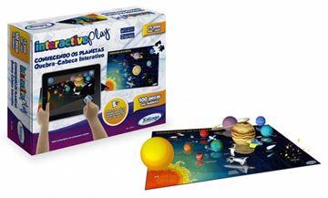 Imagem de Quebra-Cabeça Interactive Play - Conhecendo os Planetas - Xalingo