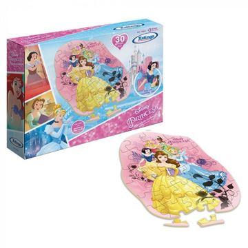 Imagem de Quebra-Cabeça Princesas Disney 30 Peças - Xalingo
