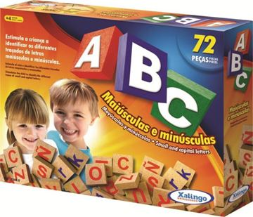 Imagem de ABC Com 72 Peças - Xalingo