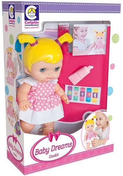 Imagem de Boneca Baby Dreams Dodói - Cotiplás