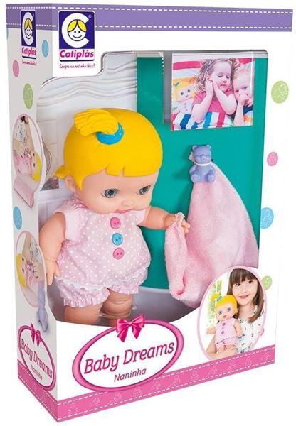 Imagem de Boneca Baby Dreams Naninha - Cotiplás