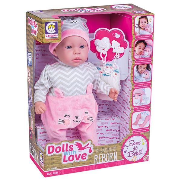 Imagem de Boneca Dolls With Love Reborn - Cotiplás
