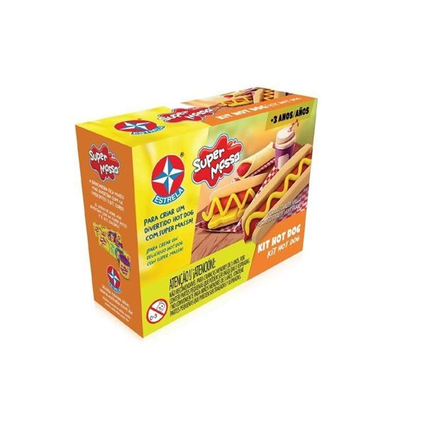 Imagem de Super Massa Kit Hot Dog - Estrela