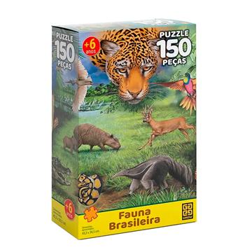 Imagem de Quebra-Cabeça Sortido 150 Peças - Grow