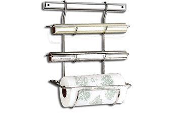 Imagem de Suporte para Rolo de Papel Toalha, Alumínio e PVC - Top Pratic - Brinox