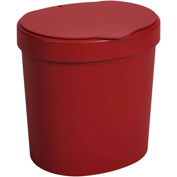 Imagem de Lixeira Basic 2,5L - Vermelha