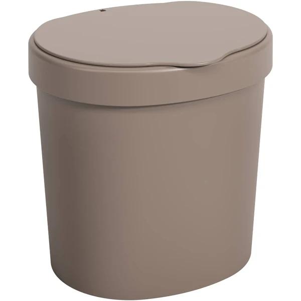Imagem de Lixeira Basic 2,5L - Cinza