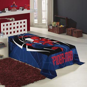Imagem de Manta Fleece 1,50m x 2,20m - Spider Man