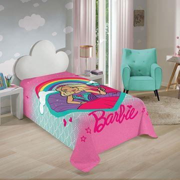 Imagem de Manta Fleece 1,50m x 2,20m - Barbie