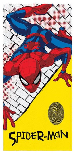 Imagem de Toalha Felpuda 60cm x 1,20m - Spider Man