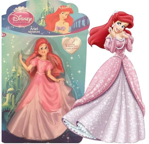 Imagem de Miniaturas Princesas Disney - Ariel