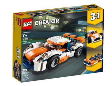 Imagem de Lego Creator Carro de  Corrida Sunset
