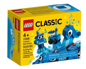 Imagem de Lego Classic Peças Azuis Criativas