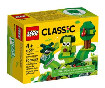 Imagem de Lego Classic Peças Verdes Criativas