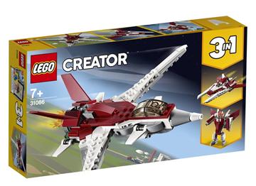 Imagem de LEGO Creator Modelo 3 em 1: Voos Futuristas