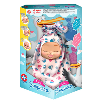 Imagem de Boneca Bebê Surpresa - Estrela