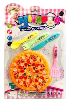 Imagem de Kit Pizza e Talheres - Goal Kids