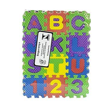 Imagem de Quebra-Cabeça EVA - Letras e Números