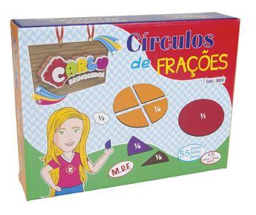 Imagem de Círculos de Frações - Carlu Brinquedos