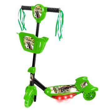 Imagem de Patinete com Cesta - Dinossauro - DM Toys