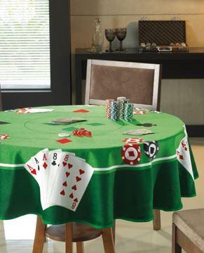 Imagem de Toalha de Mesa para Jogos - Redonda - Dohler