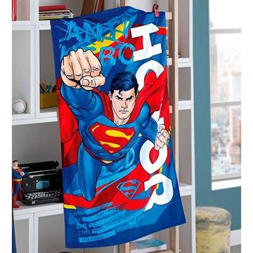 Imagem de Toalha 70cm x 130cm - Superman - Dohler