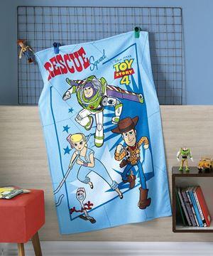 Imagem de Toalha Felpuda 70cm x 115cm - Toy Story - Dohler