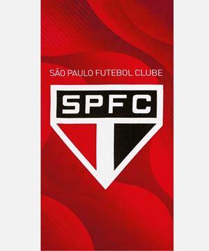 Imagem de Toalha de Praia 70cm x 140cm - Times - São Paulo