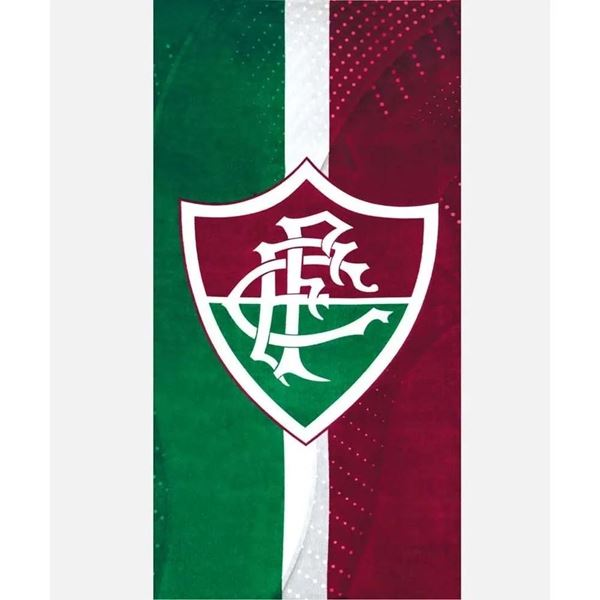 Imagem de Toalha de Praia 70cm x 140cm - Times - Fluminense