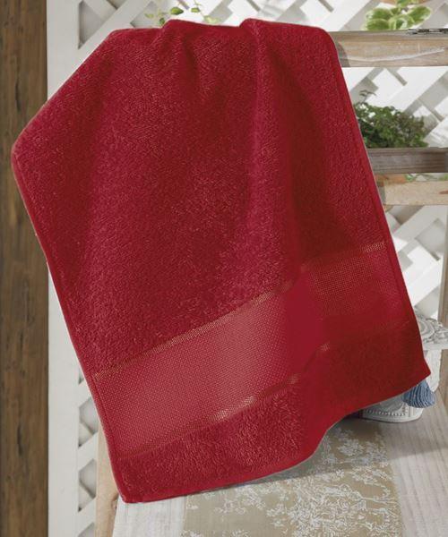 Imagem de Toalha de Lavabo 30cm x 45cm - Torino - Vermelha
