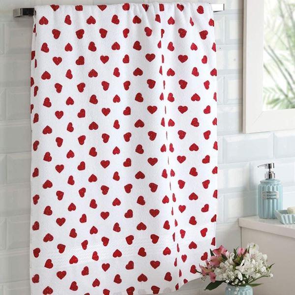 Imagem de Toalha de banho 70cm x 140cm - Prisma Formosa - Vermelha