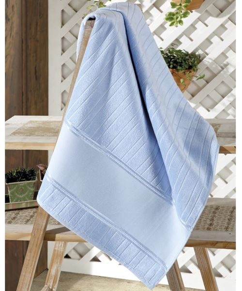 Imagem de Toalha de Lavabo 30cm x 45cm - Artesanalle - Azul