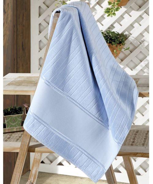 Imagem de Toalha de Rosto 50cm x 80cm - Artesanalle - Azul